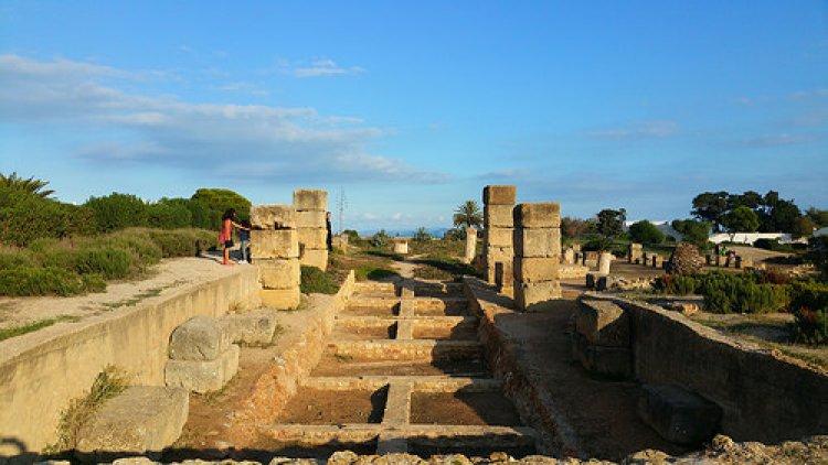 تلة بيرصا في قرطاج تونس