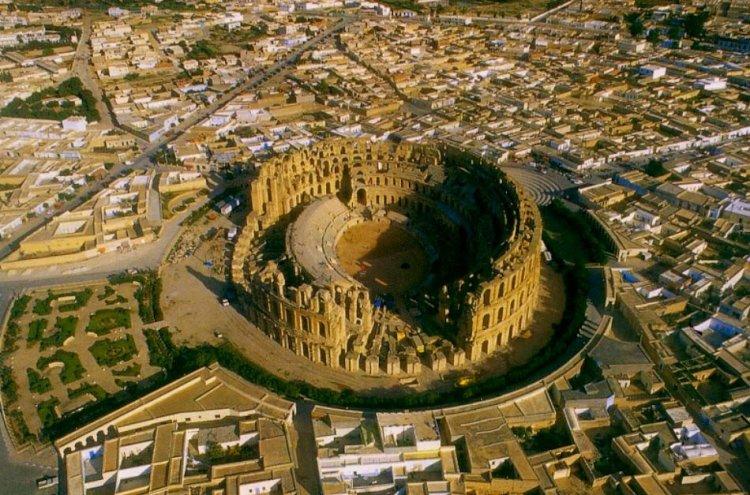 قصر الجم في تونس