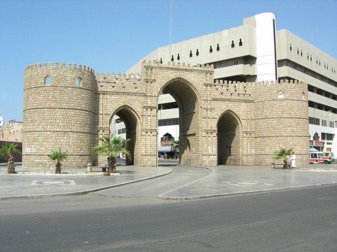 باب مكة في مدينة جدة