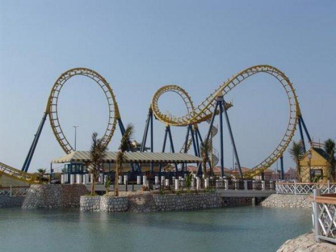 ملاهي الشلال الترفيهية في جدة