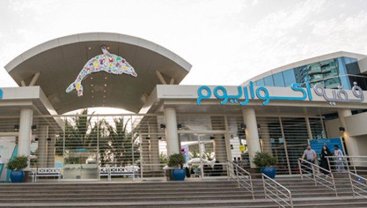 مدخل فقيه اكواريوم في مدينة جدة