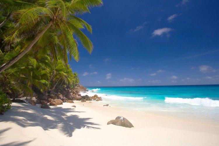شواطئ جزر سيشل