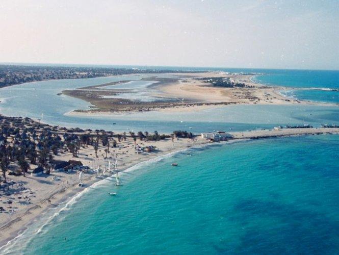 شاطئ الساقية Seguia في جربة