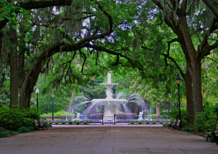 حديقة فورسيث في مدينة سافانا