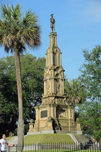 النصب التذكاري الكونفيدرالي في حديقة فورسيث