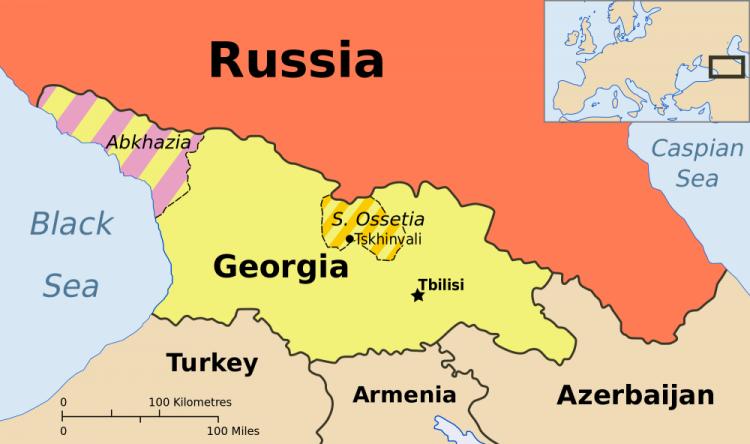 موقع جورجيا