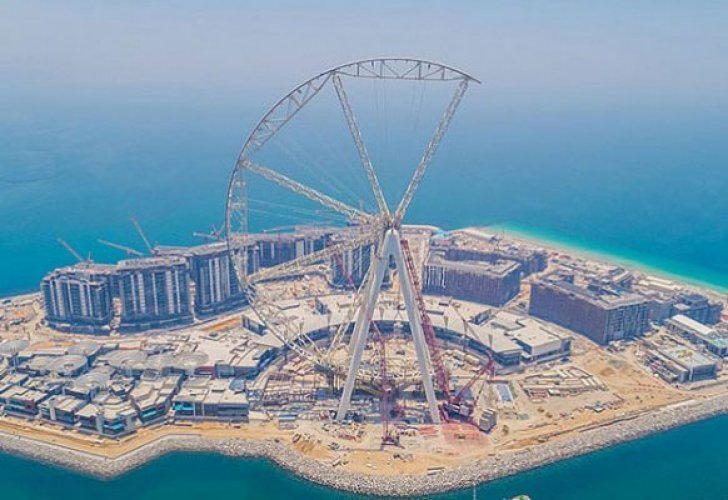 مراحل بناء عين دبي
