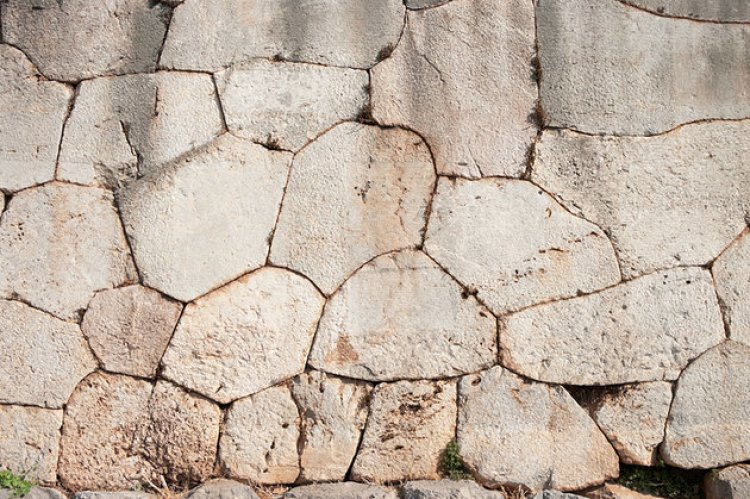 الجدار المضلع