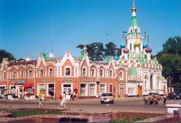 العمارة في مدينة ساراتوف