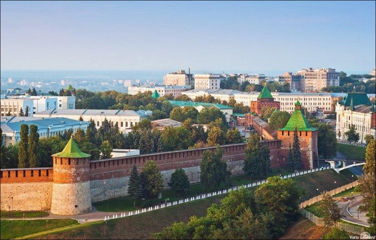 حصن نيجني نوفغورود روسيا