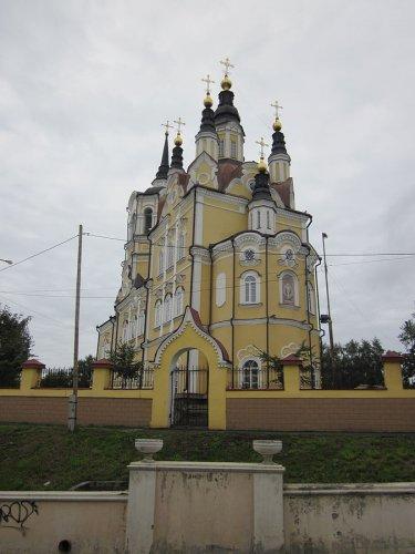 كاتدرائية ظهور المسيح في مدينة تومسك روسيا