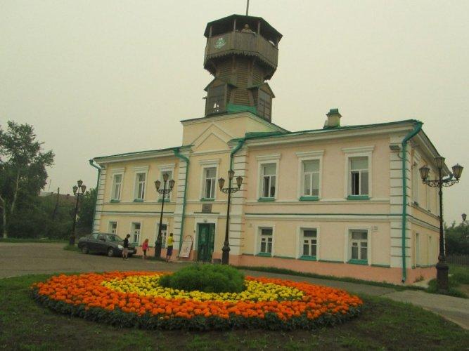 متحف تومسك التاريخي في مدينة تومسك روسيا