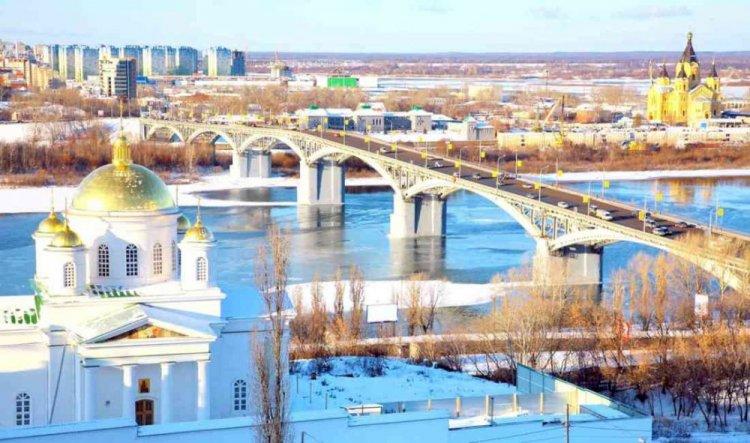 مدينة نيجني نوفغورود روسيا