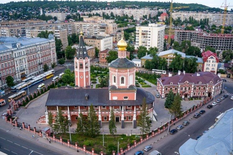 مدينة ساراتوف من الأعلى