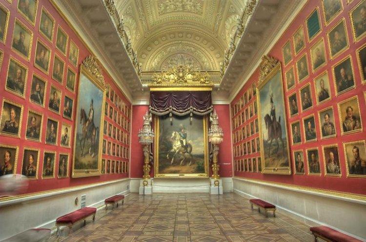 لوحات من متحف هيرميتاج