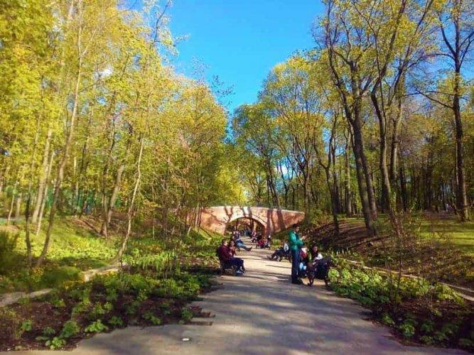التنزه في حديقة نيسكوشني