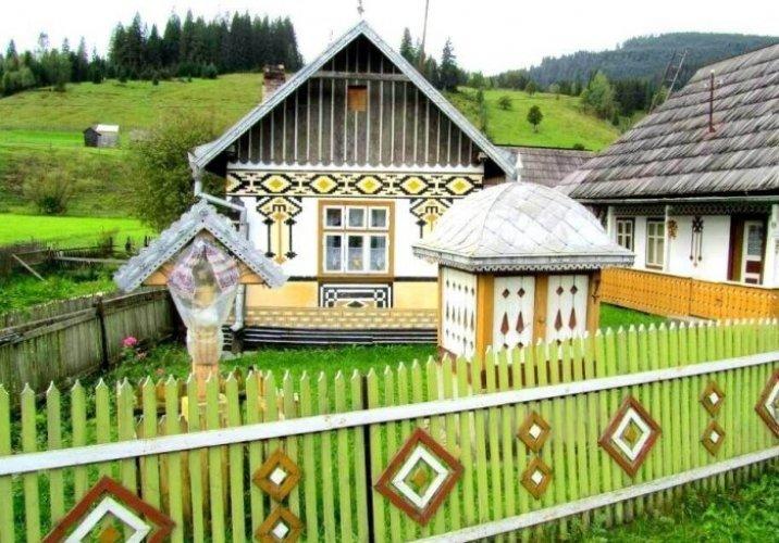 متحف قرية بوكوفينا في مدينة سوتشافا الرومانية