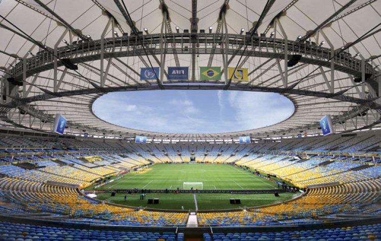 ملعب ماراكانا في ريو دي جانيرو - البرازيل