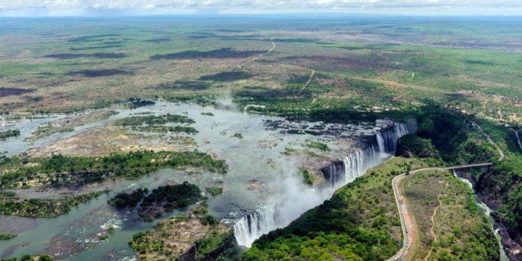 شلالات فيكتوريا في زامبيا