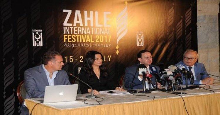 المؤتمر الصحفي للجنة تحكيم مهرجان زحلة