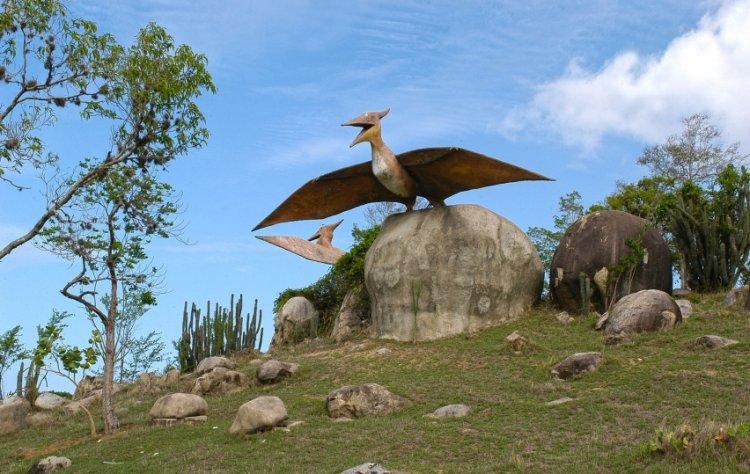 حديقة الديناصورات في كوبا