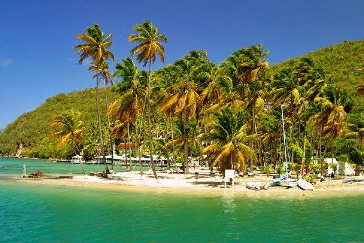 خليج Marigot Bay في سانت لوسيا