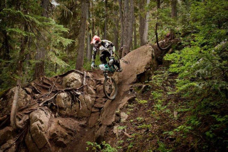 الدراجات في جبل ويسلر