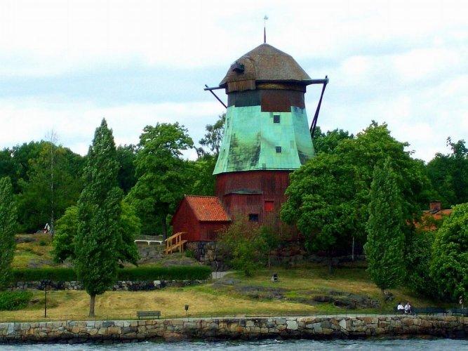 جزيرة جورجاردن في ستوكهولم - السويد