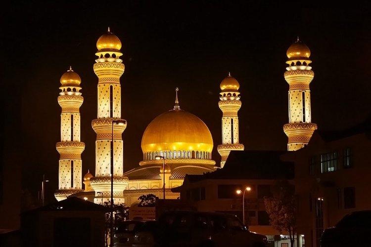 مسجد جيمس البلقي في سلطنة بروناي