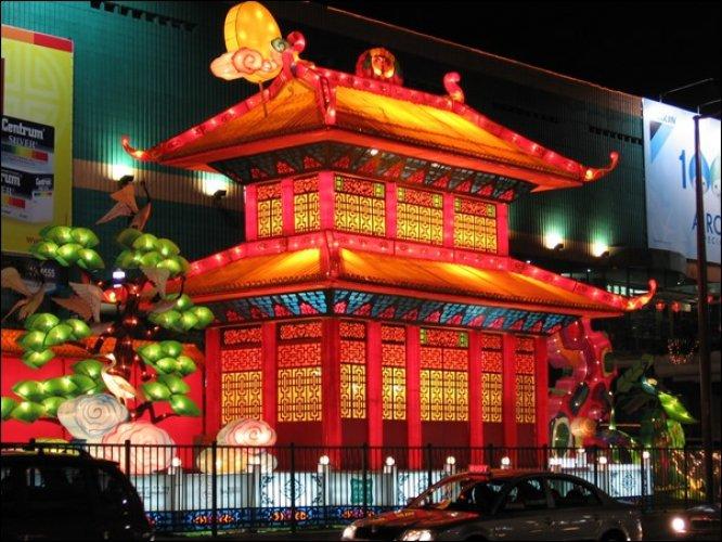 الحي الصيني في سنغافورة