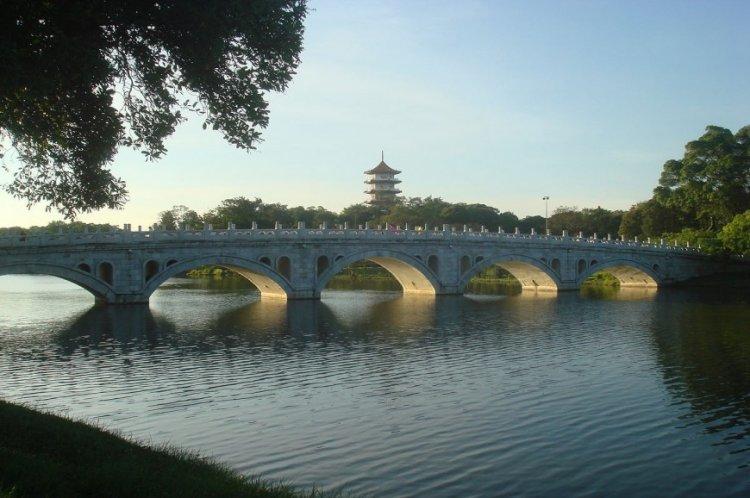 جسور الحديقة اليابانية