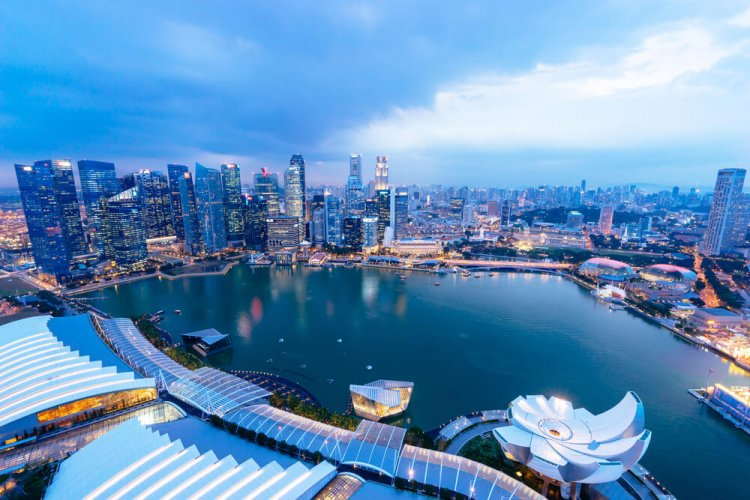 أين تقع سنغافورة سائح
