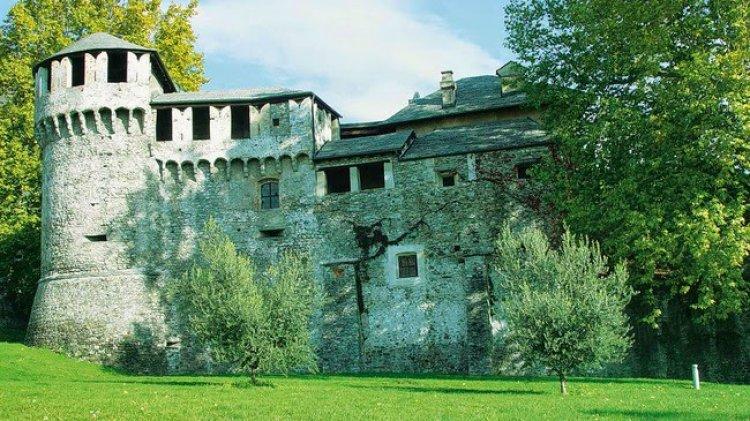 قلعة فيسكونتيو في لوكارنو