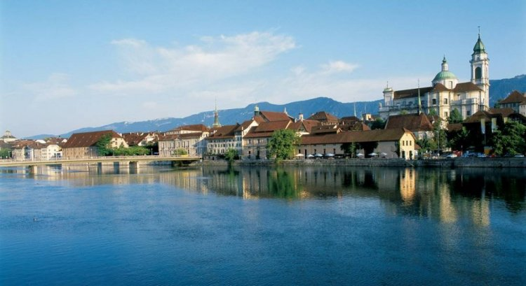 مدينة سولوتورن سويسرا