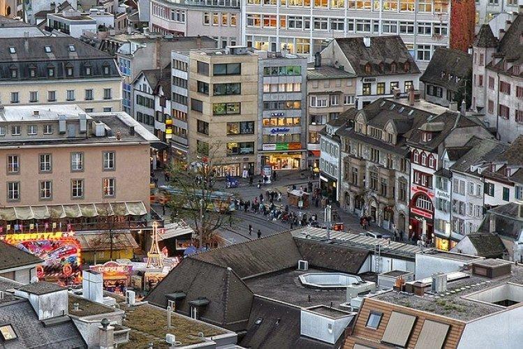 البلدة القديمة في بازل Basel Old Town