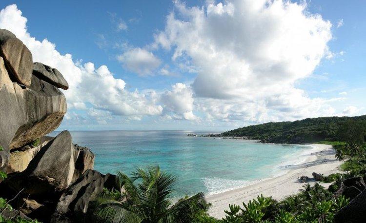 شاطئ غراند انس في جزيرة لا دييغو