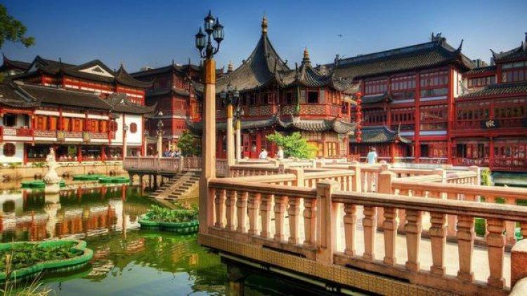 حديقة يويوان حديقة السعادة في شنغهاي