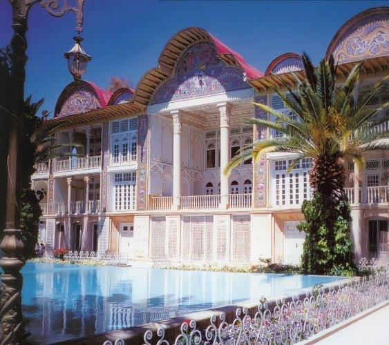 حديقة أرم في مدينة شيراز - ايران