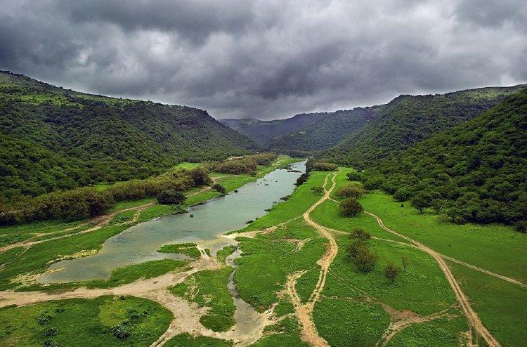 وادي دربات في صلالة