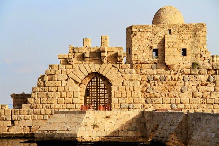 قلعة صيدا البحرية في لبنان