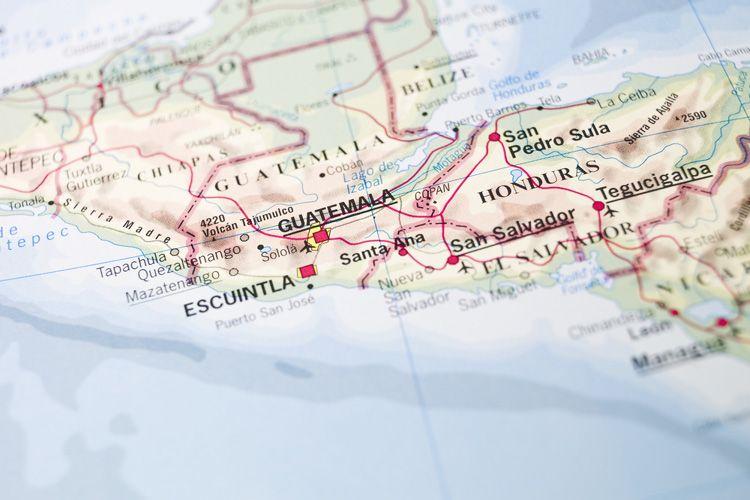 أين تقع غواتيمالا ؟