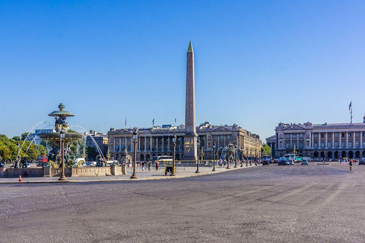 ساحة الكونكورد في باريس