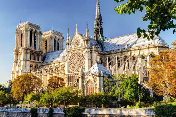 كاتدرائية نوتردام باريس