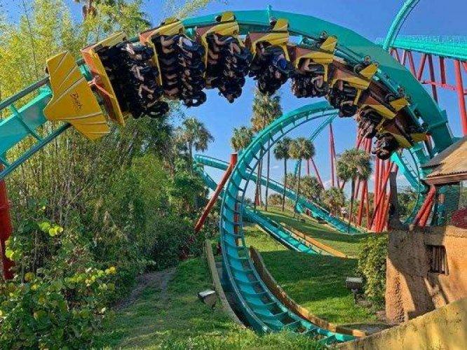 ملاهي بوش غاردنز تامبا باي في فلوريدا