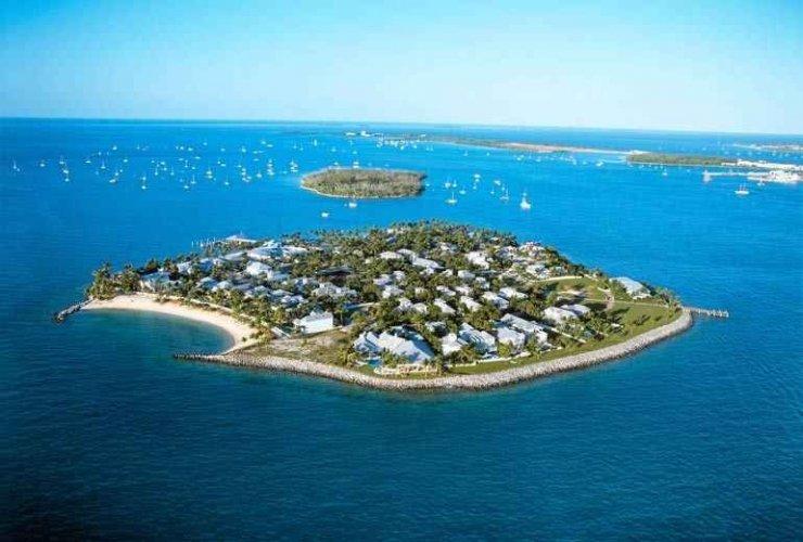جزيرة كى ويست في فلوريدا