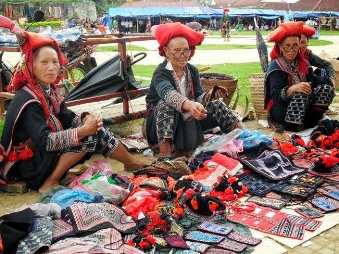 التسوق في سابا فيتنام