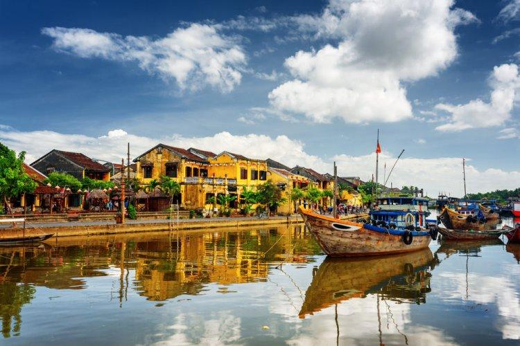جمال المياه في مدينة هوي آن