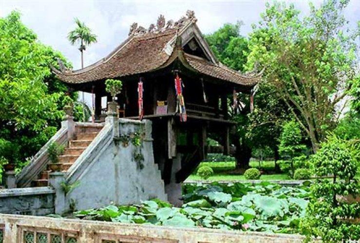 معبد ون بيلار باغودا في هانوي