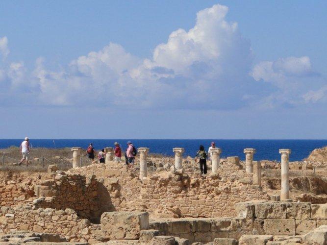 ساراندا كولونس في قبرص