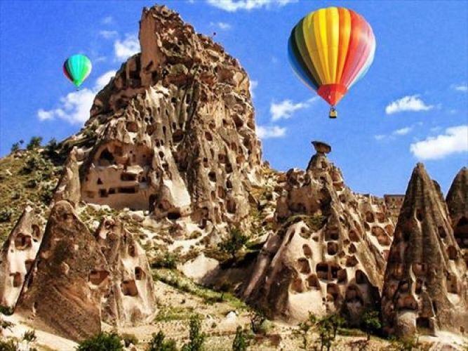كابادوكيا في قيصرية - تركيا